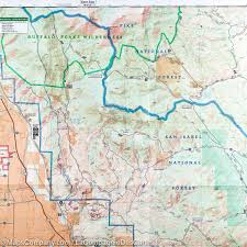 Colorado Mountain Map by Trail Map Of Buena Vista Collegiate Peaks Colorado 129