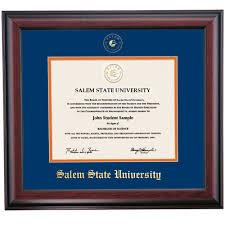 michigan state diploma frame salem state diploma frames diploma display ocm