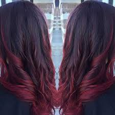 best summer highlights for auburn hair 21 amazing dark red hair color ideas stayglam