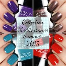 summer nail color trends 2014 chanel summer 2015 nail polish swatches review all lacquered up