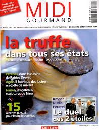 gourmand magazine cuisine magasine midi gourmand un article sur atelier des gourmandises