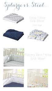 pottery barn linen sheets review splurge vs steal fitted crib sheets review the wise baby