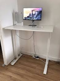 Sit Stand Desk Ikea by Ikea Skarsta Sit Standing Desk 70cm X 120cm In Islington London