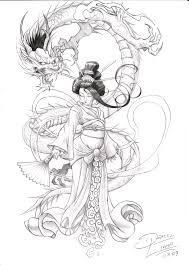 pin by edit abonyi on geisha pinterest dragons tattoo and samurai