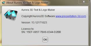 aurora 3d text u0026 logo maker 13 0503 incl u0026 keygen keyscity