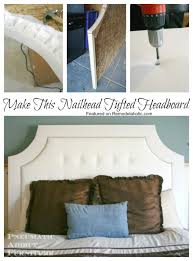 Dritz Home Decorative Nailhead Trim Build A Tufted Headboard With Nail Head Trim Remodelaholic