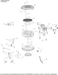 kohler cv23 75589 dixie chopper 23 hp 17 2 kw parts diagram for in