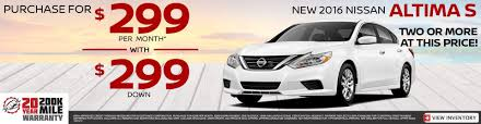 nissan altima for sale in sc nissan dealership southern pines nc used cars pinehurst nissan