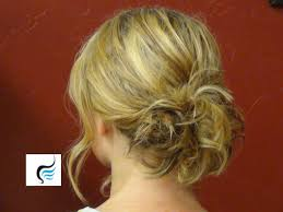 updo hairstyle for thin hair easy updo for fine hair youtube
