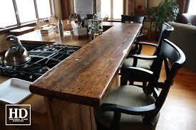 reclaimed barn wood kitchen island with wooden top reclaimed wood tops hd threshing floor furniture www hdthreshing com