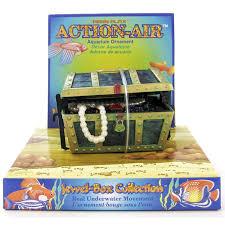 penn plax penn plax air treasure chest aquarium air decorations