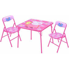 kids table and chairs walmart peppa pig table and chairs set walmart com
