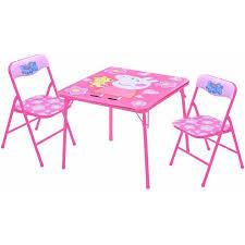 table and chair set walmart peppa pig table and chairs set walmart com