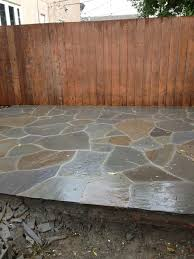 Flagstone Ideas For A Backyard I U0027m Loving My New Flagstone Patio Turned Out Just Like The