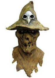 demonic scarecrow mask deluxe scary halloween masks