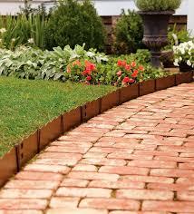 cheap garden edging ideas u2014 biblio homes creative garden edging