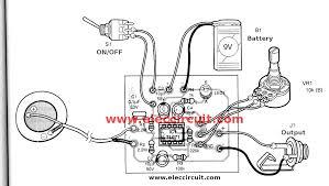 acoustic guitar pickup circuit using tl071 eleccircuit com