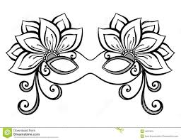mask template 101 best masques école images on masks drawings and