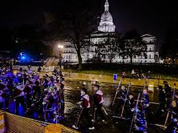 silver bells 2016 was rained out in lansing and it was chaos