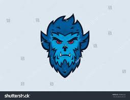 Halloween Vector Graphics Werewolf Halloween Vector Illustration Stock Vector 505866226