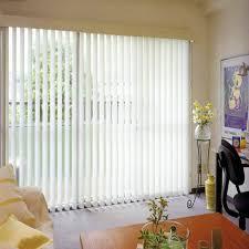 Blinds For Sliding Doors Ideas Amazing White Blinds Sliding Door For Your Room With White Wood