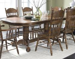 dining decorating long narrow dining table rectangular oak dining