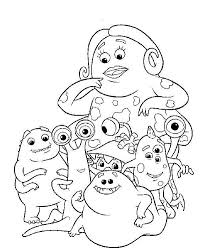 monsters coloring pages randall http east color