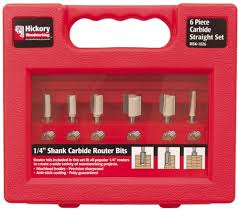 hickory woodworking rbk1026 6 piece carbide straight set
