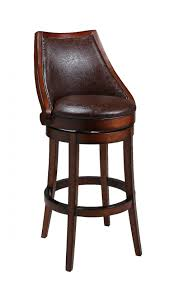 Wooden Bar Stool With Back Kitchen Room Design Kitchen Eclectic Dark Brown Natural Wood Bar