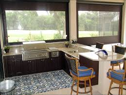 kitchen built in grill bbq area design ideas outdoor cooking