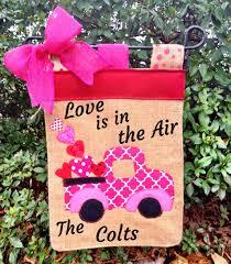 Valentine S Day Garden Decor by Valentine U0027s Day Garden Flag Heart Sign Personalized