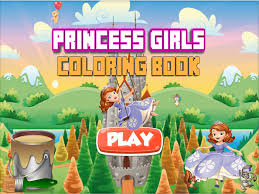 princess girls coloring book all in 1 cute fairy tail draw