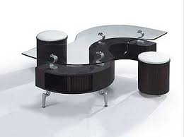 S Shaped Desk Coffee Table S Shape Contemporary
