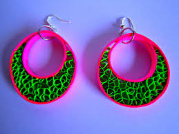 home made earrings paper earrings fancy home made earrings tutorial