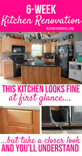why on earth are we taking on a 6 week kitchen renovation