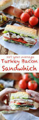 thanksgiving leftover sandwich not your average turkey bacon sandwich flirting with flavor
