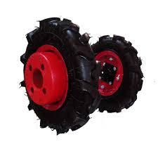 chambre a air motoculteur de roues avec pneus agraires et masses pour motoculteur