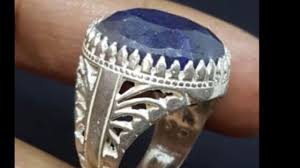 men big rings images Big handmade 925 sterling silver men ring natural genuine blue jpg