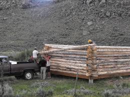 cabin foundation plans piers plastic base for log concrete wood