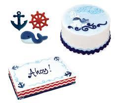 nautical cake toppers decorations nautical assortment bulk box 84