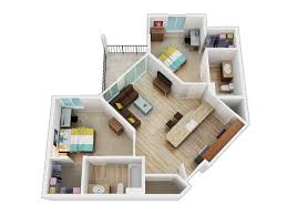 Smart Floor Plan by 16 Smart 3d Corner Apartment Floor Plan Design Orchidlagoon Com