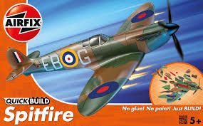 cheap airfix quick build spitfire aircraft model kit www hettweb com