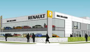 renault ireland renault ireland car showroom morgan architects