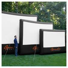 outdoor movie night dream design dwell