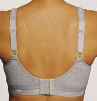 jodee cool cotton sports bra solid grey jodee 507