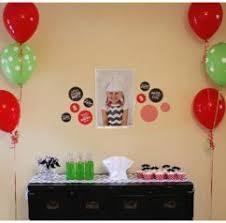 home design hawaiian theme birthday party simple decorating idea