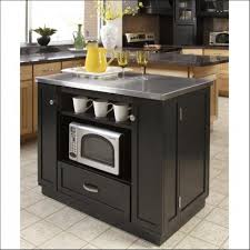 kitchen stainless steel kitchen island with decoration imposing