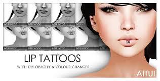 Lip Tattoos On - tattoos gallery lip or inner lip