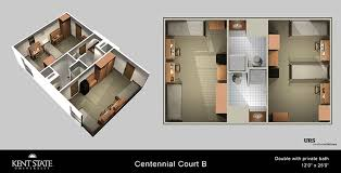 Centennial Hall Floor Plan Centennial Court B Kent State University