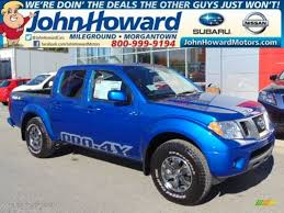 nissan frontier pro 4x 2015 metallic blue nissan frontier pro 4x crew cab 4x4 97522058